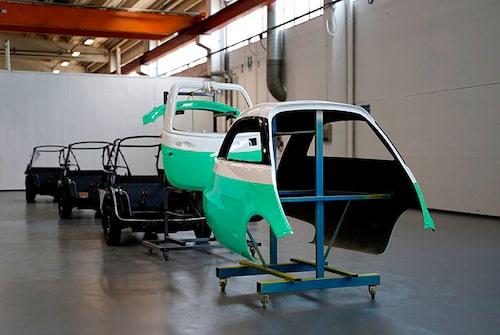 Microlino har nått stadiet av förseriebilar.