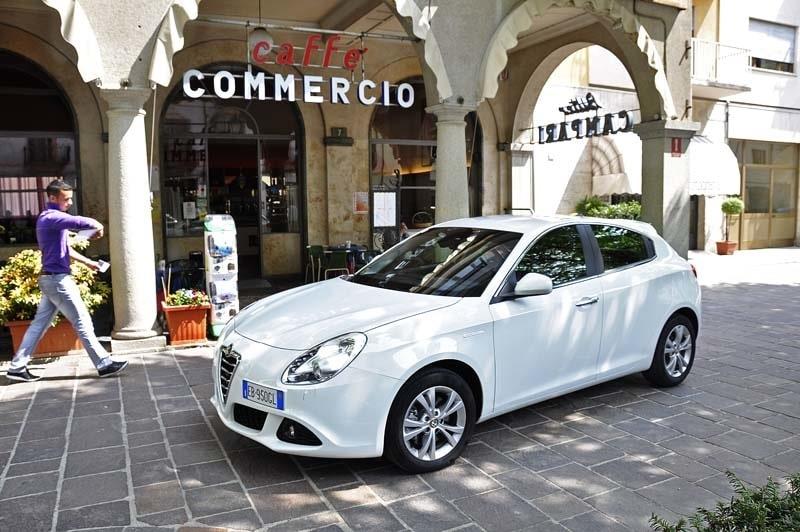 Provkörning av Alfa Romeo Giulietta 1,4 TB 170 hk
