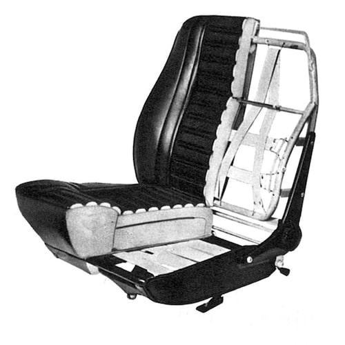 Amazon-stolarna var de första i en lång rad Volvo-stolar som satte säkerhet och komfort främst. Stolarna konstruerades i samarbete med medicinsk expertis och hade desssutom svankstöd som från 1968 kunde justeras med en liten ratt. Då behövdes inte längre någon skruvmejsel.