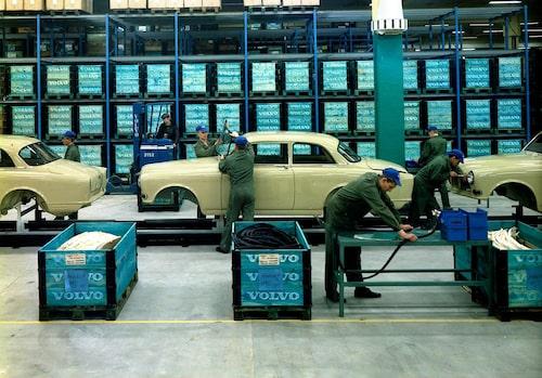Produktionen av Volvo Amazon kom igång 1956 och höll ut till 1970.