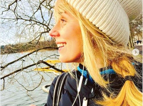 – Att springa är ett jättebra sätt att hantera ångest, säger Helena.