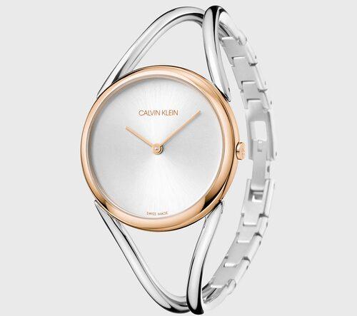 Klocka i guld och silver från Calvin Klein, klicka på bilden för att komma till den.