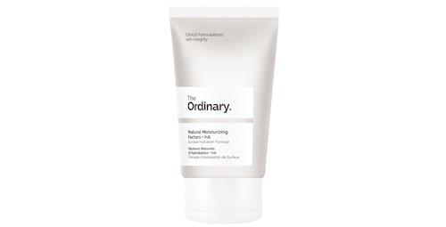 Recension på Natural moisturizing factors + HA från The Ordinary.