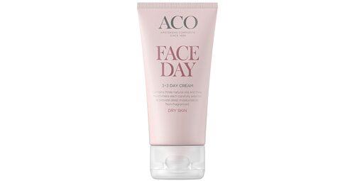 Recension på Face 3+3 day cream från Aco.
