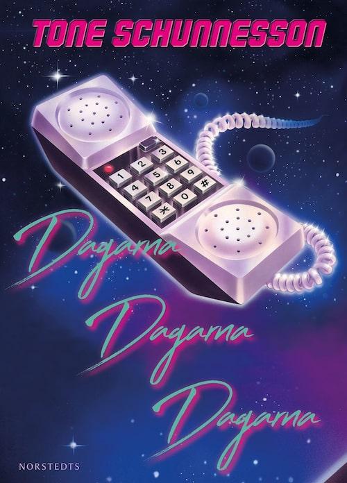 """Omslaget till boken """"Dagarna dagarna dagarna""""."""