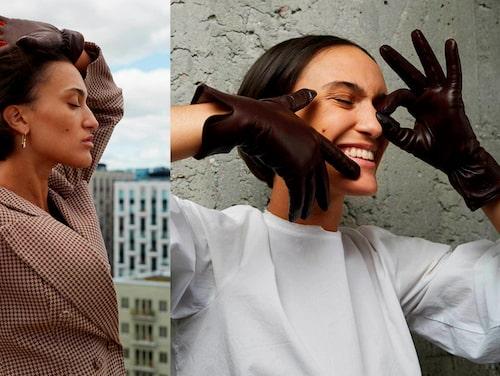Handskar från Ingrid von Konows märke Handsome Stockholm