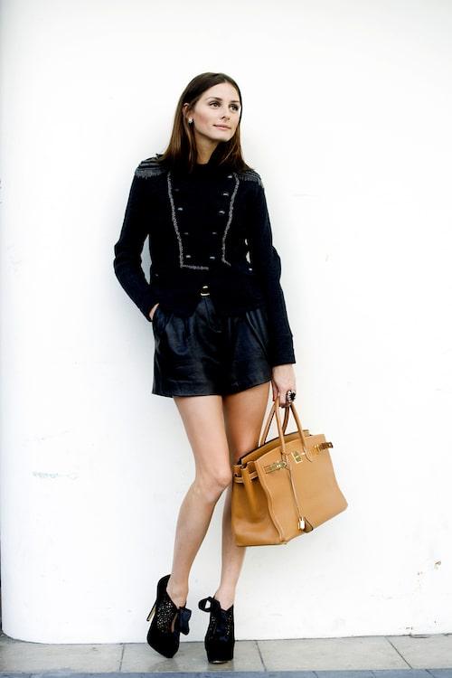 Olivia Palermo med sin bästa kompis Hermès Birkin.