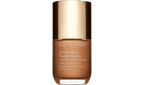 Recension av Everlasting youth fluid foundation från Clarins.