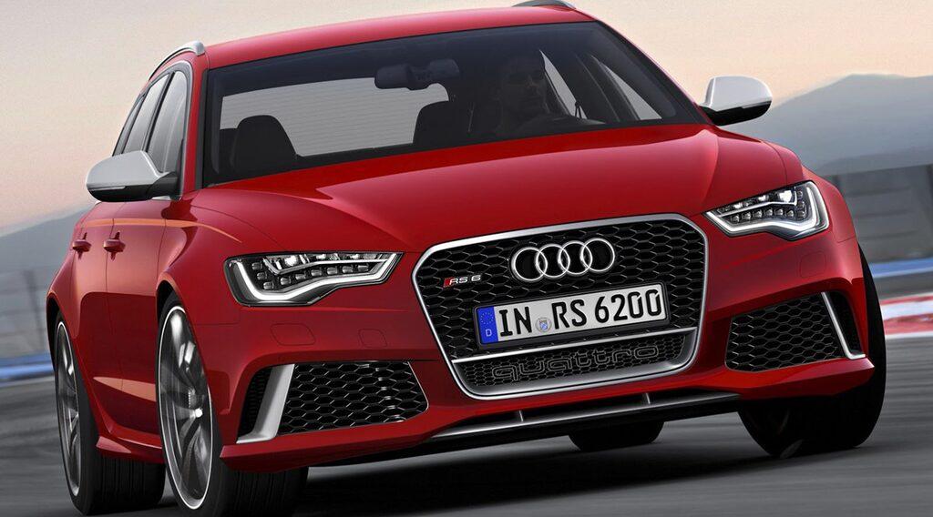 Nya Audi RS6 Avant 2014