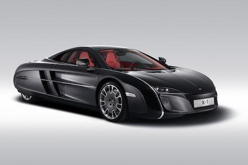 En minst sagt annorlunda bil, McLaren X-1. En av förebilderna till formerna: en aubergine. Bläddra vidare bland bilderna och kungör din dom...