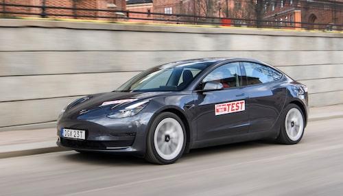 Teslas storsäljare Model 3.