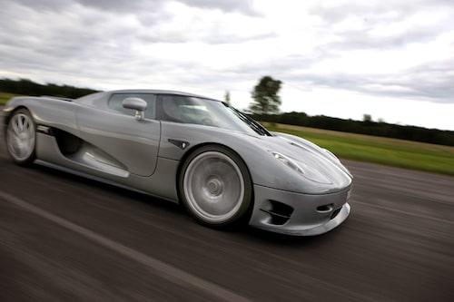 Fartresurser som aldrig tar slut kännetecknar Koenigsegg CCR Evolution.