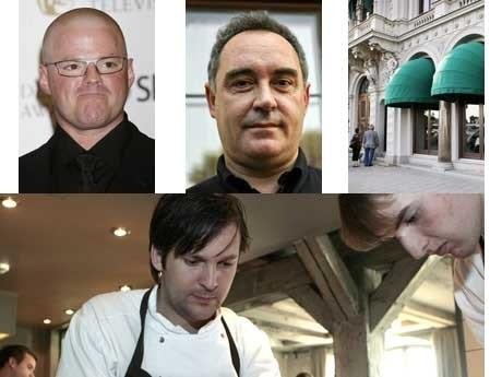 <p>Heston Blumenthal, Ferran Adri&agrave;, Mathias Dahlgrens restaurang vid Grand H&ocirc;tel och Rene Redzepi p&aring; Noma i K&ouml;penhamn.&nbsp; </p>