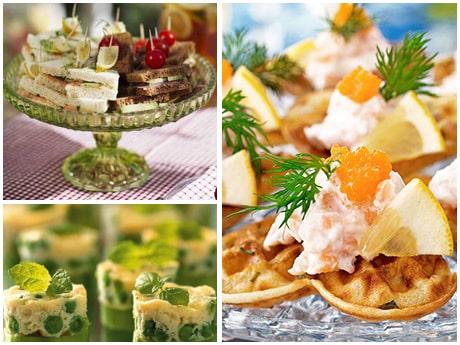 Recept på snittar till sommarens fester.