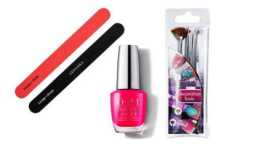 Grafiska naglar på nolltid med dessa produkter.