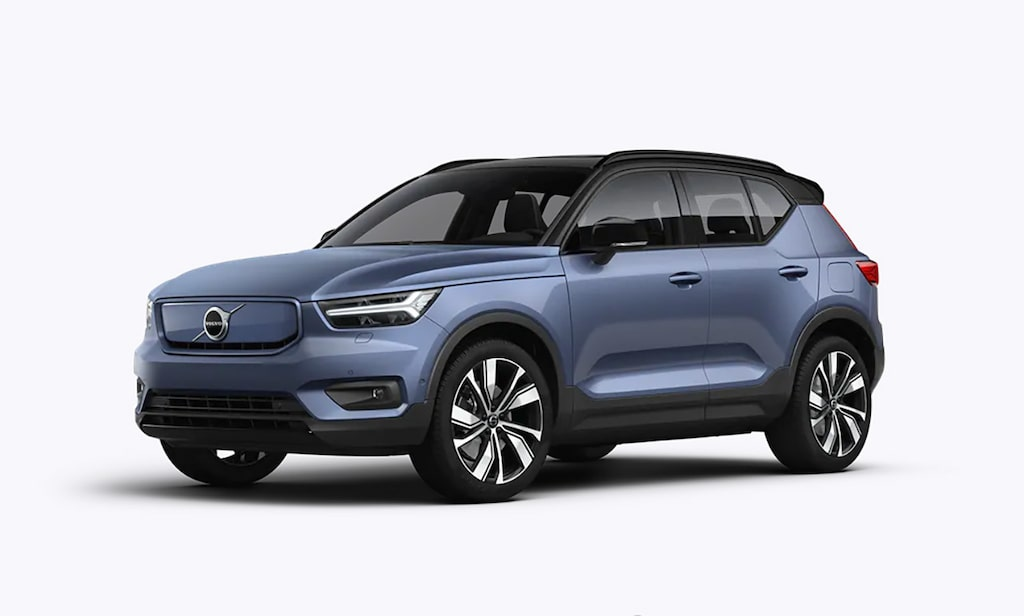 Volvo XC40 Recharge Bursting Blue Metallic