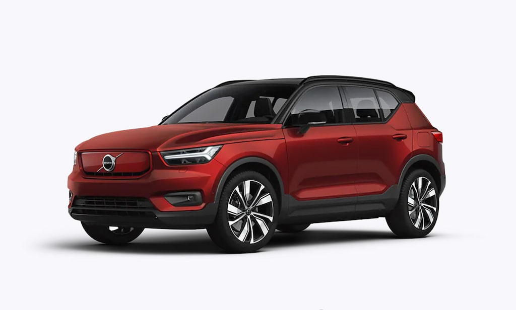Volvo XC40 Recharge Fusion Red Metallic