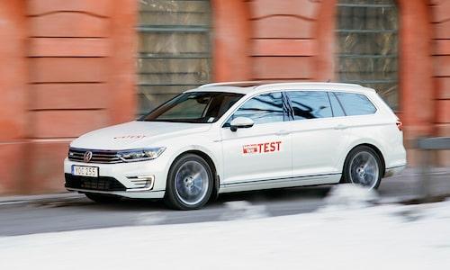 Volkswagen Passat GTE är ohotad etta...