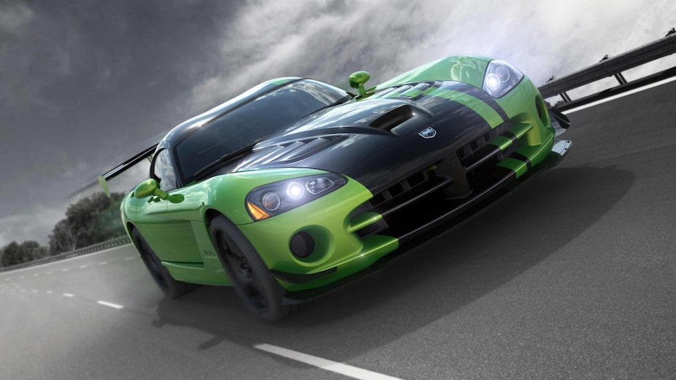 Dodge Viper Snakeskin Green ACR 2010