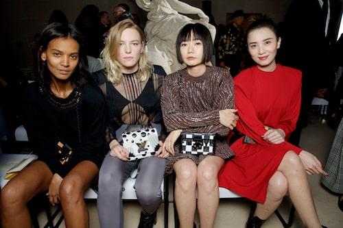 Liya Kebede, Erika Linder, Doona Bae, Song Jia