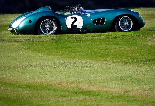Aston Martin DBR1, alltså en sådan som Carroll Shelby vann Le Mans med 1959 tillsammans med Roy Salvadori. Troligtvis att det är just denna bil de vann med.