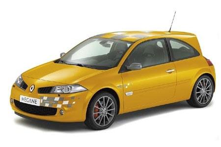 """Vanliga"" Renault Mégane R26"