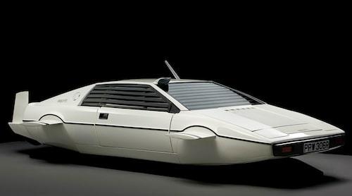 """Esprit kunde även köra under vatten, i James Bond-filmen """"Älskade spion"""" med Roger Moore."""