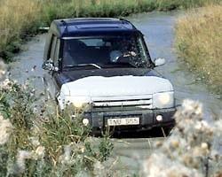 Provkörning av Land Rover Discovery