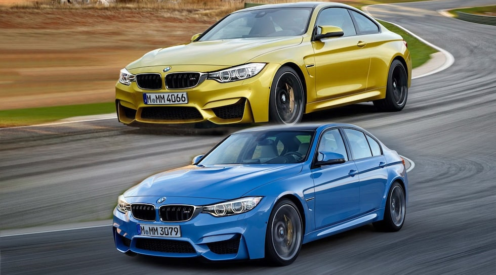Nya BMW M3 Sedan och M4 Coupé