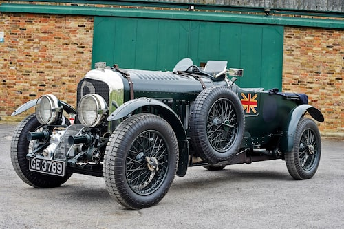 """Exakt så här såg """"the Birkin Blower"""" ut när Tim Birkin tävlade på Le Mans 1930. Idetalj. Att bygga en liknande replika kostar i dag runt 10 miljoner kronor…"""