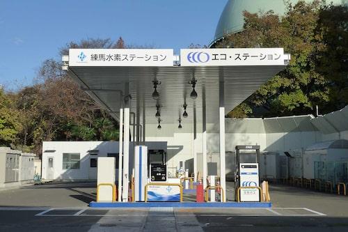 I Japan finns det snart 150 vätgasstationer. Staten hjälper till med utbyggnaden.