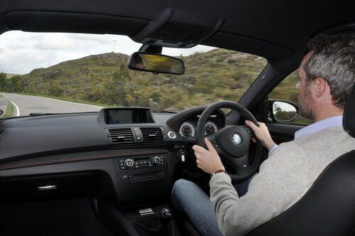 BMW 1-serie M Coupé och David Lilja.