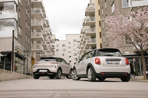 Citybilarna. Med mindre batterier och därmed kortare räckvidd än flera konkurrenter är både Mini och DS3 Crossback med eldrivlina renodlade stadsbilar. Å andra sidan passar de perfekt för jobbet.