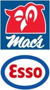 Mac's och Esso