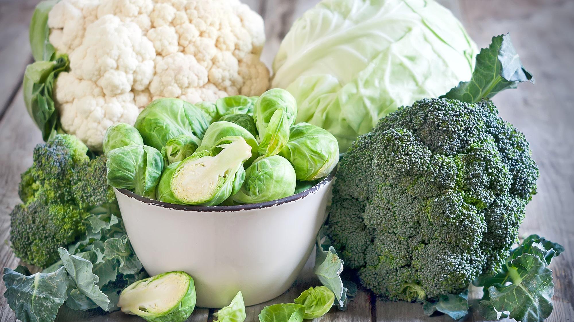 ont i magen av broccoli