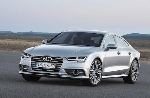 Audi A7 Sportback av föregående generation (C7) berörs också.