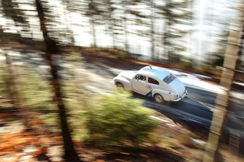 1964 vann Tom Trana rally-EM med originalet. Med replikan vann han Veterancupen 1987 och -88.