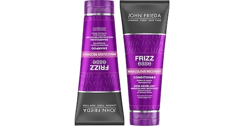Recension på Frizz ease miraculous recovery shampoo från John Frieda.