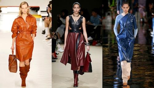 Skinn i fokus hos Tod's, Alexander McQueen och Stella McCartney.