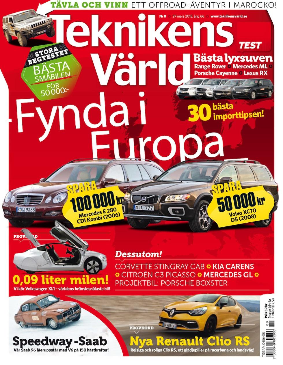 Teknikens Värld nummer 8 / 2013