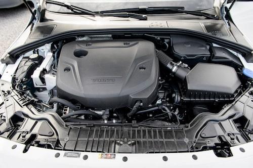 Fyrhjulsdrift går tyvärr fortfarande inte att kombinera med nya VEA-dieseln.