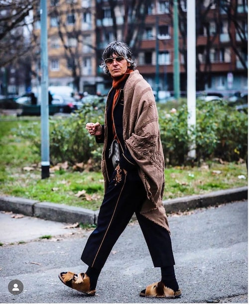 Anna Gimeno Brugada är stylisten med en riktigt cool stil, vilken allt som oftast inkluderar ett par unika skor.