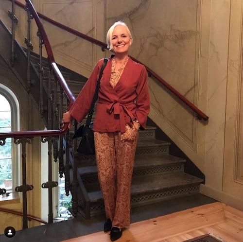 Hedvig Andér är kläddesignern som bland annat stylar om människor i tv-programmet Go'kväll.