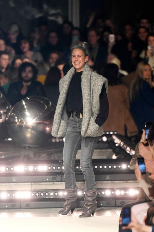 Isabel Marant är den franska modedesignern med en bohemiskt avslappnad signaturlook.