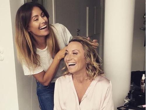 I sitt yrke som makeup-artist är Jessica känd för att sprida mycket glädje och energi.