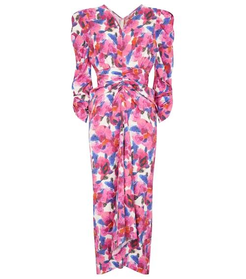 Blommig klänning från Isabel Marant.