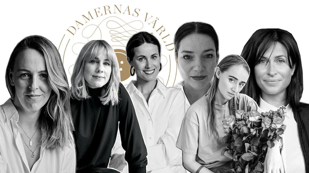 Juryn i Damernas Värld Guldknappen 2019.