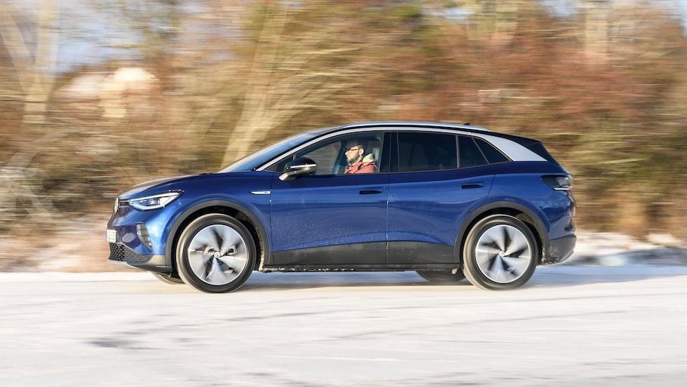 Vi kör Volkswagen ID.4 för första gången på svensk mark. I fjol körde vi modellen för första gången, se länk nedan.