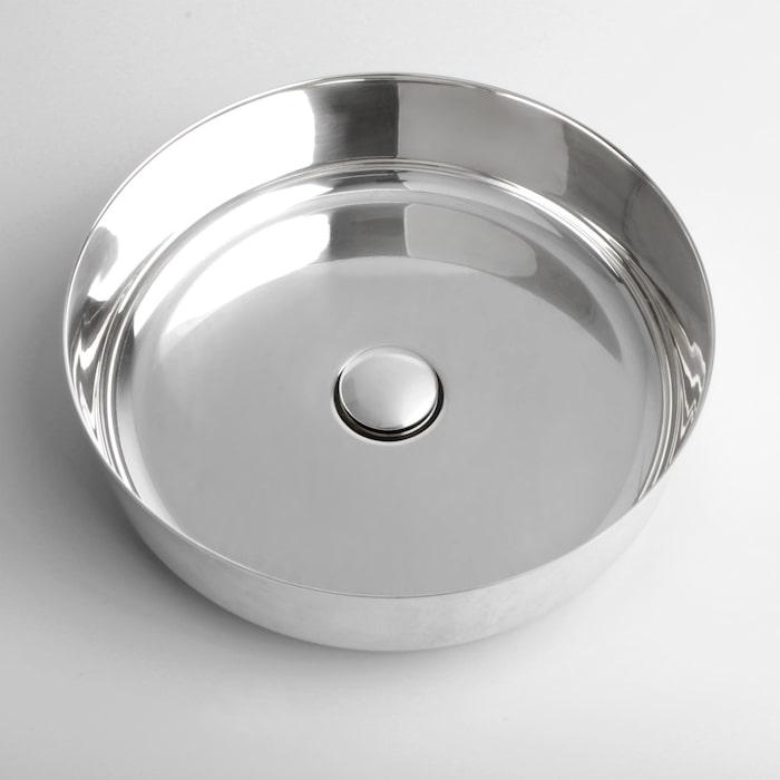 6. Supersink i rostfritt stål, finns även i obehandlad mässing eller koppar, 3 995 kr, Superfront.