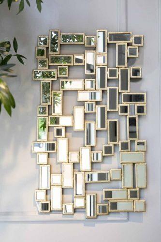 Konstfull spegel från Oscar & Clothilde